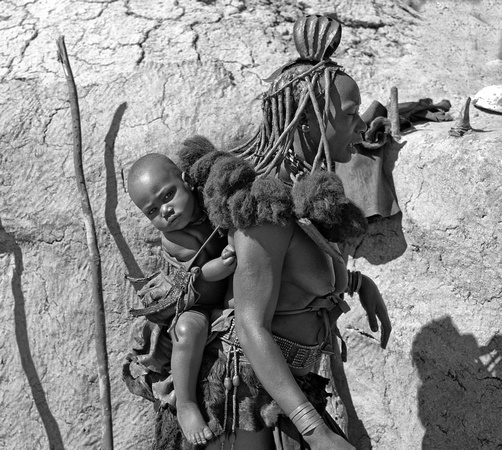 Himba Mother & Child
